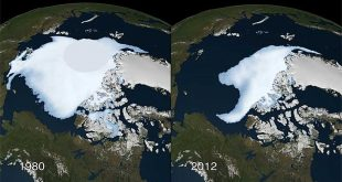 Arctic Ice Sheet melting