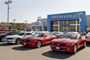 As part of a key General Motors initiative to enhance the customer experience, more than 3,400 Chevrolet, Buick, GMC and Cadillac dealerships in the United States will upgrade their retail facilities to meet brand standards. The Team Chevrolet Superstore features new exterior entrances with updated signage Friday, February 3, 2012 in Vallejo, California. To date, more than 1,000 dealerships have either completed their upgrades, or are under construction. (Photo by Martin Klimek for Chevrolet)